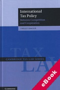 Cover of International Tax Policy: Between Competition and Cooperation (eBook)