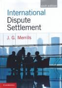 Cover of International Dispute Settlement