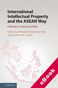 Cover of International Intellectual Property and the ASEAN Way: Pathways to Interoperability (eBook)
