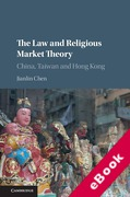 Cover of The Law and Religious Market Theory: China, Taiwan and Hong Kong (eBook)