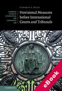 Cover of Provisional Measures Before International Courts and Tribunals (eBook)