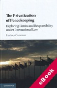 Cover of The Privatization of Peacekeeping: Exploring Limits and Responsibility Under International Law (eBook)