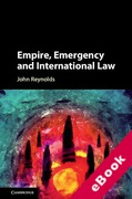 Cover of Empire, Emergency and International Law (eBook)