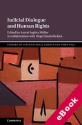 Cover of Judicial Dialogue and Human Rights (eBook)