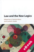 Cover of Law and the New Logics (eBook)
