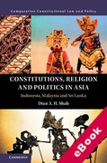 Cover of Constitutions, Religion and Politics in Asia: Indonesia, Malaysia and Sri Lanka (eBook)