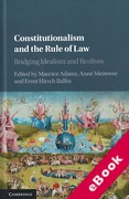 Cover of Constitutionalism and the Rule of Law: Bridging Idealism and Realism (eBook)