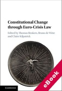 Cover of Constitutional Change through Euro-Crisis Law (eBook)