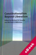 Cover of Constitutionalism Beyond Liberalism (eBook)