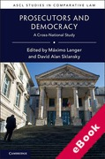 Cover of Prosecutors and Democracy: A Cross-National Study (eBook)