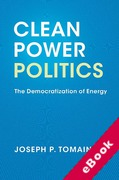 Cover of Clean Power Politics: The Democratization of Energy (eBook)