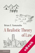 Cover of A Realistic Theory of Law (eBook)