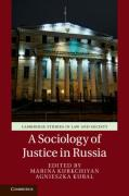 Cover of A Sociology of Justice in Russia