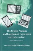 Cover of The United Nations and Freedom of Expression and Information: Critical Perspectives