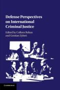 Cover of Defense Perspectives on International Criminal Justice