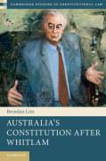 Cover of Australia's Constitution After Whitlam