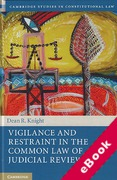Cover of Vigilance and Restraint in the Common Law of Judicial Review (eBook)