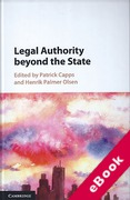 Cover of Legal Authority beyond the State (eBook)