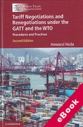 Cover of Tariff Negotiations and Renegotiations under the GATT and the WTO: Procedures and Practices (eBook)