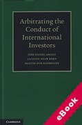 Cover of Arbitrating the Conduct of International Investors (eBook)