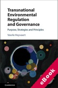 Cover of Transnational Environmental Regulation and Governance: Purpose, Strategies and Principles (eBook)