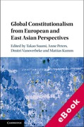 Cover of Global Constitutionalism from European and East Asian Perspectives (eBook)