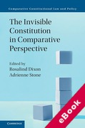 Cover of The Invisible Constitution in Comparative Perspective (eBook)