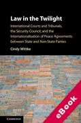 Cover of Law in the Twilight: International Courts and Tribunals, the Security Council, and the Internationalisation of Peace Agreements between State and Non-State Parties (eBook)
