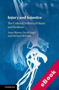 Cover of Injury and Injustice: The Cultural Politics of Harm and Redress (eBook)