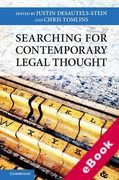 Cover of Searching for Contemporary Legal Thought (eBook)