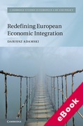 Cover of Redefining European Economic Integration (eBook)
