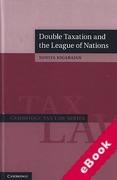Cover of Double Taxation and the League of Nations (eBook)