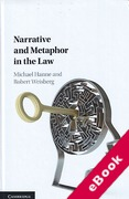 Cover of Narrative and Metaphor in the Law (eBook)