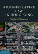 Cover of Administrative Law in Hong Kong