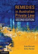 Cover of Remedies in Australian Private Law