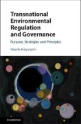 Cover of Transnational Environmental Regulation and Governance: Purpose, Strategies and Principles