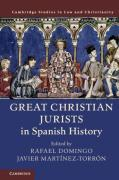 Cover of Great Christian Jurists in Spanish History