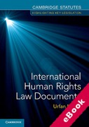 Cover of International Human Rights Law Documents (eBook)