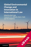 Cover of Global Environmental Change and Innovation in International Law (eBook)