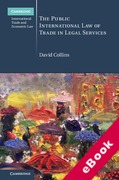 Cover of The Public International Law of Trade in Legal Services (eBook)