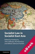 Cover of Socialist Law in Socialist East Asia (eBook)