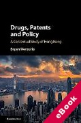Cover of Drugs, Patents and Policy: A Contextual Study of Hong Kong (eBook)