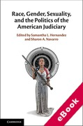 Cover of Race, Gender, Sexuality, and the Politics of the American Judiciary (eBook)