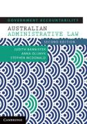 Cover of Government Accountability: Australian Administrative Law (eBook)