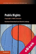 Cover of Public Rights: Copyright's Public Domains (eBook)