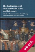 Cover of The Performance of International Courts and Tribunals (eBook)