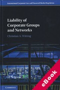 Cover of Liability of Corporate Groups and Networks (eBook)