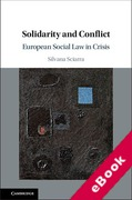 Cover of Solidarity and Conflict: European Social Law in Crisis (eBook)