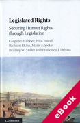 Cover of Legislated Rights: Securing Human Rights through Legislation (eBook)