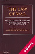 Cover of The Law of War: A Detailed Assessment of the US Department of Defense Law of War Manual (eBook)